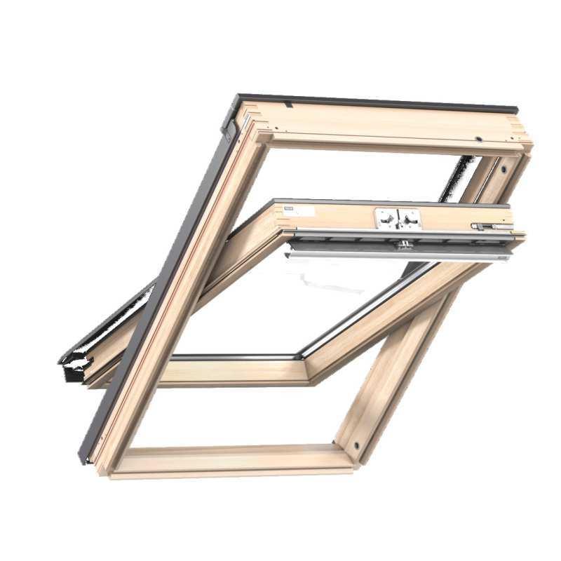 velux standard tet ablak gzl 1051 fels kilincses 55 x 78 ck02 cm x cm tet centrum. Black Bedroom Furniture Sets. Home Design Ideas