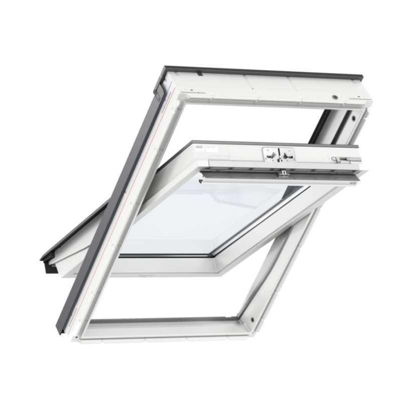 velux standard plus m anyag tet ablak glu 0061 55 x 78 cm x cm fels kilincses tet centrum. Black Bedroom Furniture Sets. Home Design Ideas